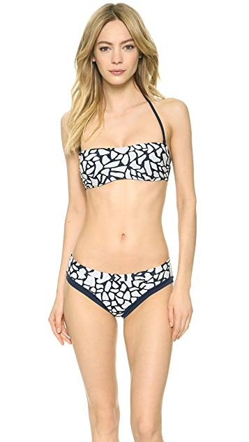 Zero + Maria Cornejo Pebble Print Ina Bikini Bottoms