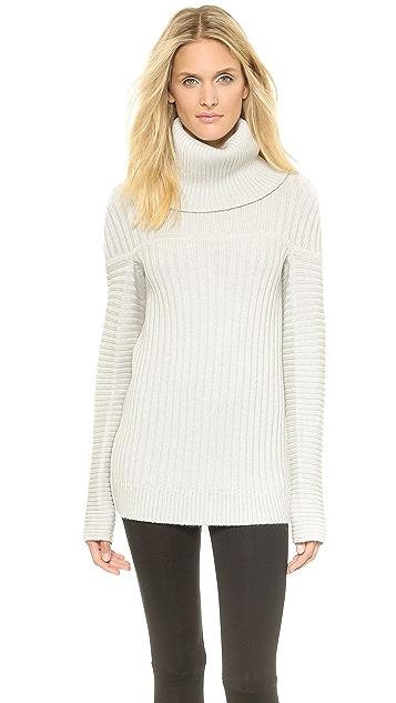 47a239b1949 Zero + Maria Cornejo Nian Rollneck Sweater