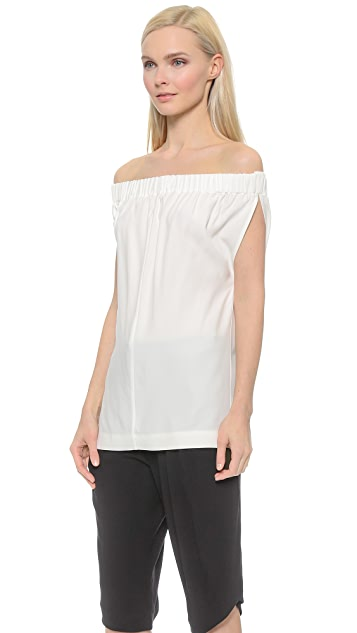 Zero + Maria Cornejo Draped Evie Top
