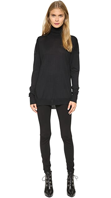 Zero + Maria Cornejo Stella Rollneck Sweater