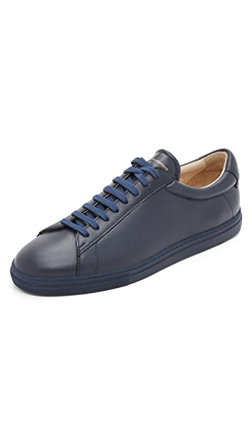 Zespa #4 Leather Sneakers
