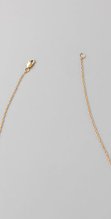Jennifer Zeuner Jewelry Graffiti LOVE Necklace