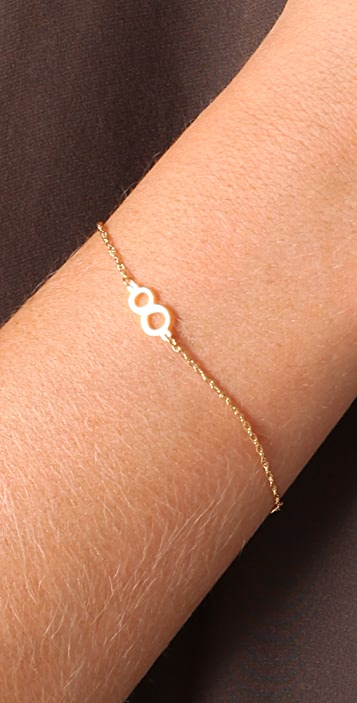 Jennifer Zeuner Jewelry Integrated Number Bracelet
