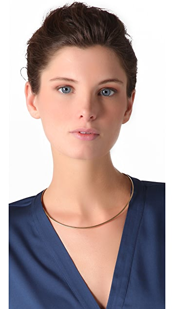 Jennifer Zeuner Jewelry Thin Choker Necklace
