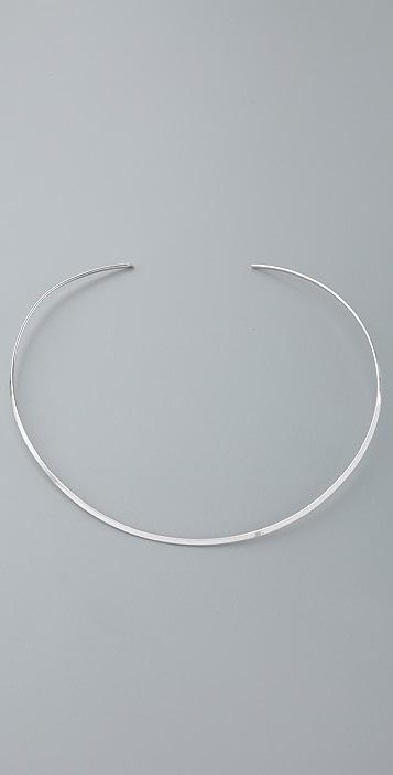 Jennifer Zeuner Jewelry Thin Choker Necklace