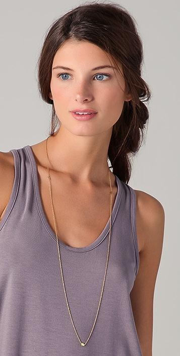 Jennifer Zeuner Jewelry Triple Baby Hamsa Necklace