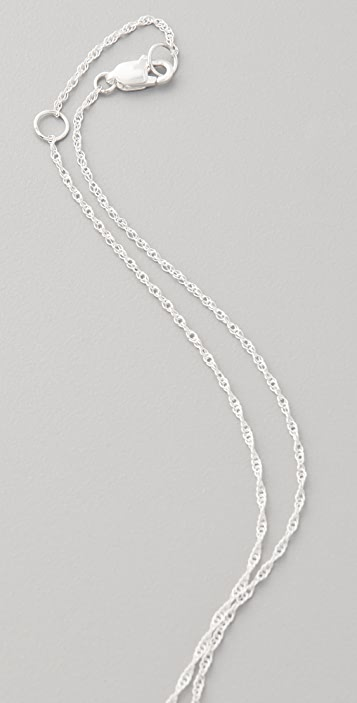 Jennifer Zeuner Jewelry XO Charm Necklace