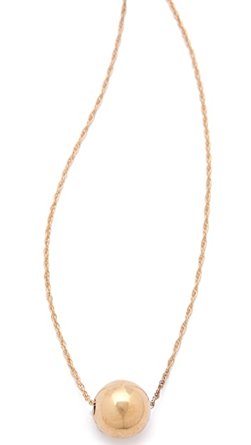 Jennifer Zeuner Jewelry Medium Ball Necklace