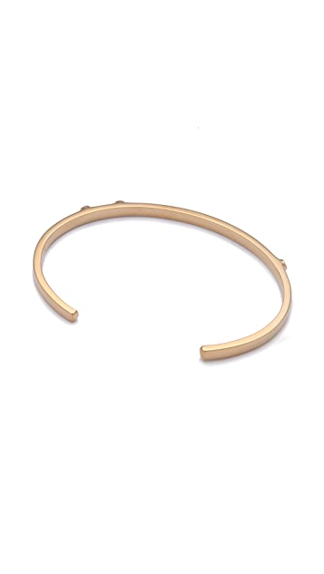 Jennifer Zeuner Jewelry Skinny Diamond Bangle