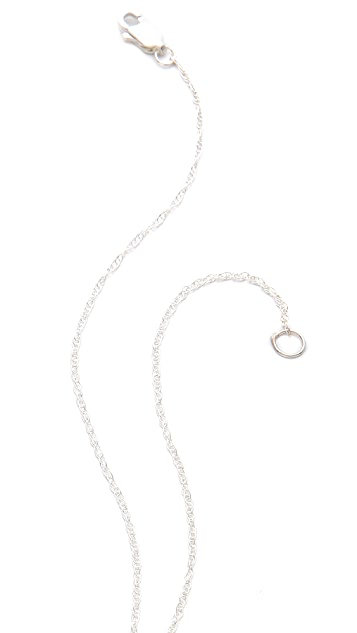 Jennifer Zeuner Jewelry Theresa Lariat Necklace