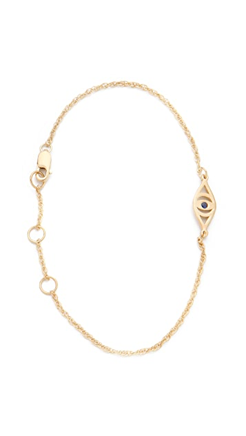 Jennifer Zeuner Jewelry Mini Integrated Eye Bracelet
