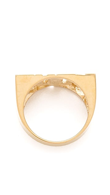 Jennifer Zeuner Jewelry Block Love Ring