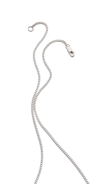 Jennifer Zeuner Jewelry Open Star Lariat Necklace