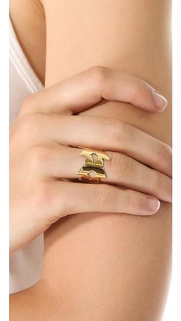 Jennifer Zeuner Jewelry Butterfly Eternity Ring