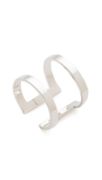 Jennifer Zeuner Jewelry Rectangle Band Ring