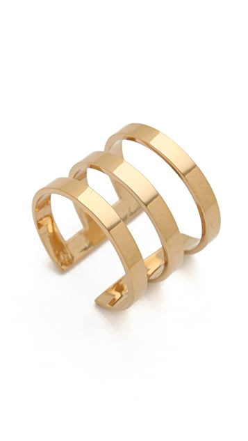 Jennifer Zeuner Jewelry Yvette 3 Band Ring