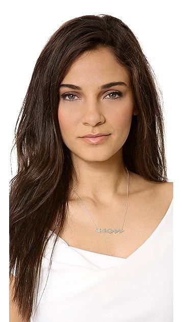 Jennifer Zeuner Jewelry Freda Horizontal Necklace