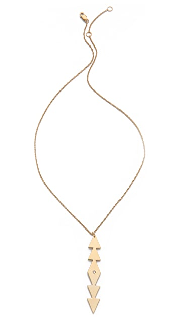 Jennifer Zeuner Jewelry Freda Vertical Necklace
