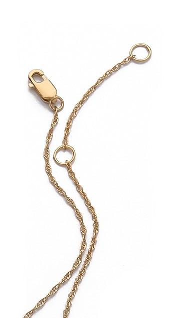 Jennifer Zeuner Jewelry Freda Vertical Necklace