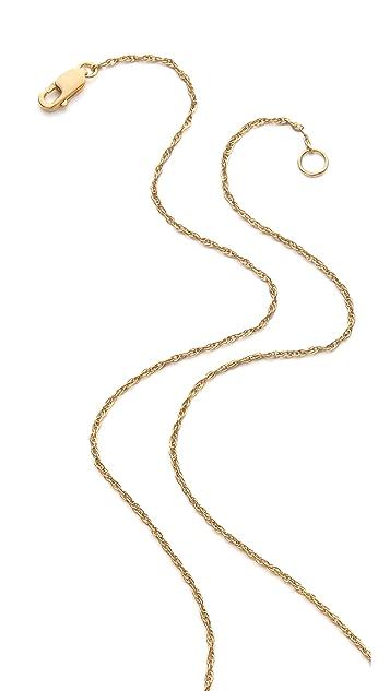 Jennifer Zeuner Jewelry Double Horn Lariat Necklace
