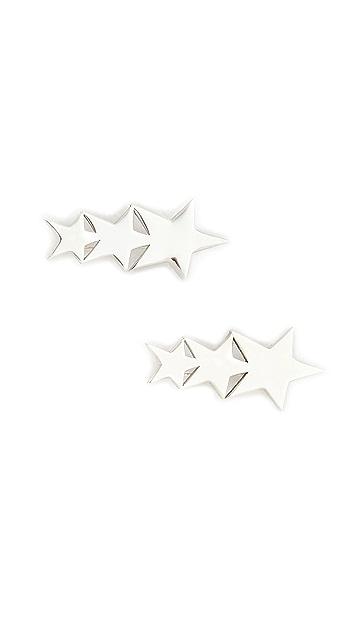 Jennifer Zeuner Jewelry Vega Ear Crawlers