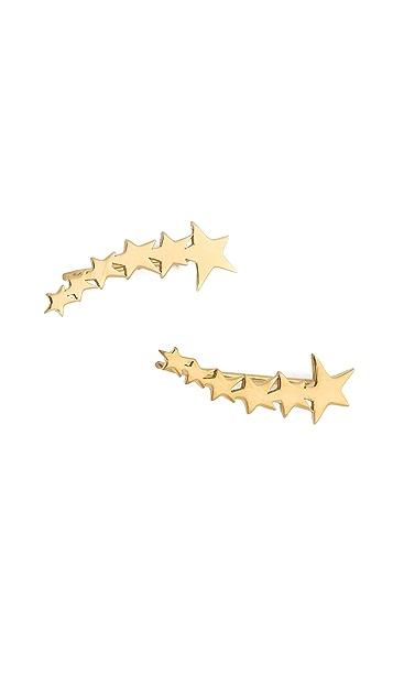 Jennifer Zeuner Jewelry Vega Extended Ear Crawlers