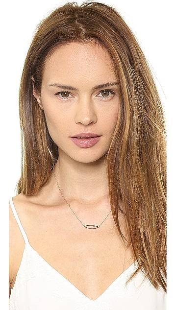 Jennifer Zeuner Jewelry Irene Sapphire Necklace