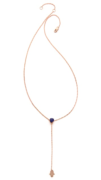 Jennifer Zeuner Jewelry Ofelia Lariat Necklace