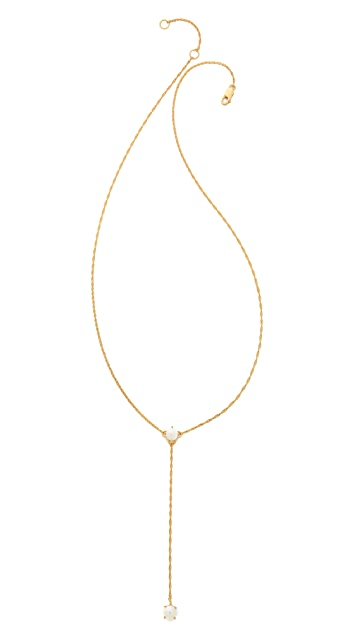 Jennifer Zeuner Jewelry Lariat Necklace
