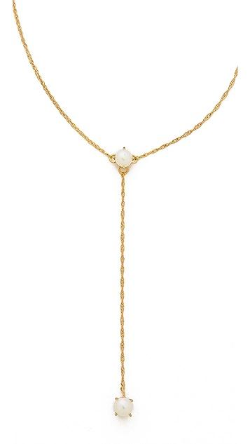 Jennifer Zeuner Jewelry Lariat Necklace
