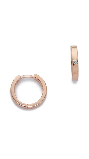 Jennifer Zeuner Jewelry Tenley Hoop Earrings