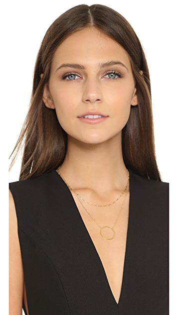 Jennifer Zeuner Jewelry Abbey Layered Necklace