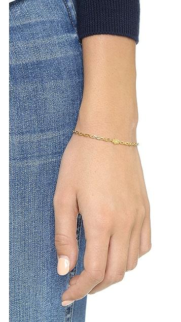 Jennifer Zeuner Jewelry Mini Hamsa Diamond Bracelet