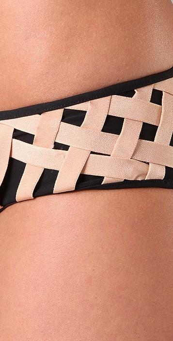 Zimmermann Thistle Weave Underwire Bikini