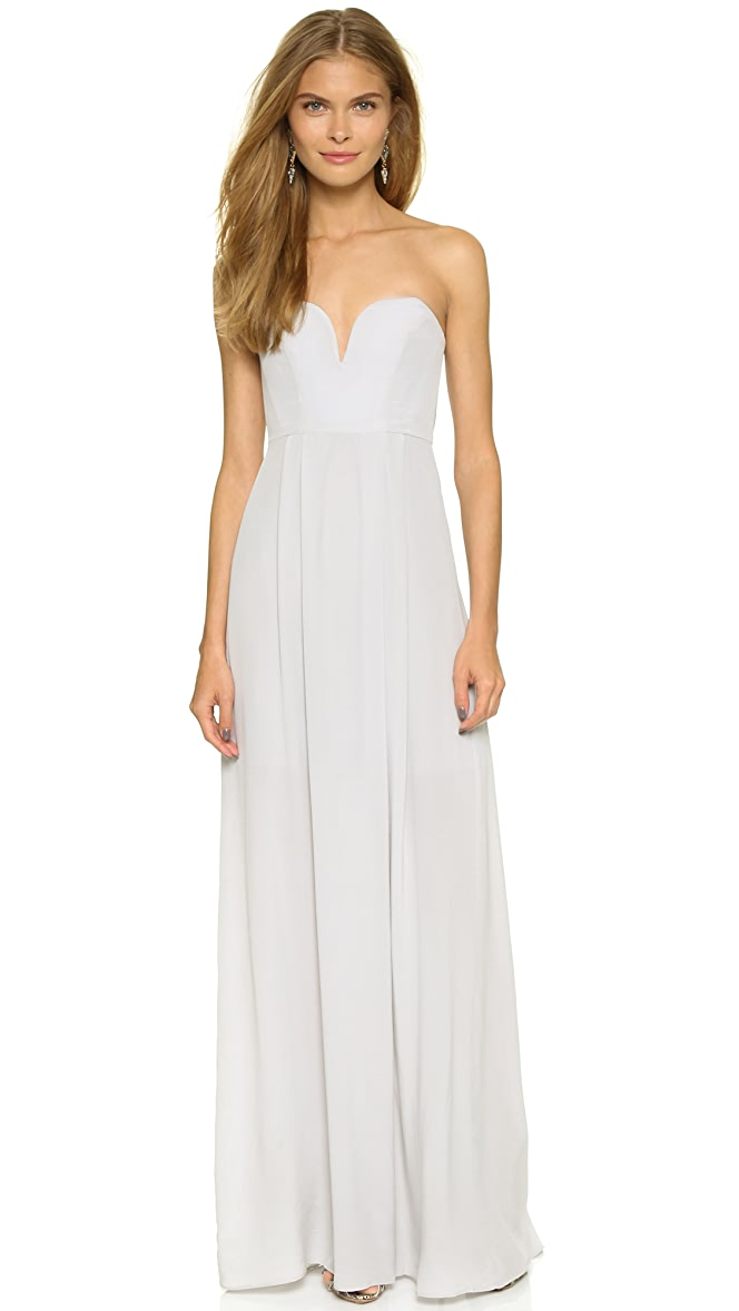Zimmermann Strapless Maxi Dress | SHOPBOP