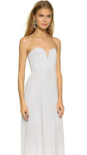 Zimmermann Strapless Maxi Dress