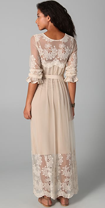 Zimmermann Trivial Embroidered Maxi Dress
