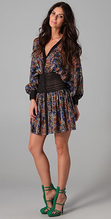 Zimmermann Halcyon Lace Elastic Dress