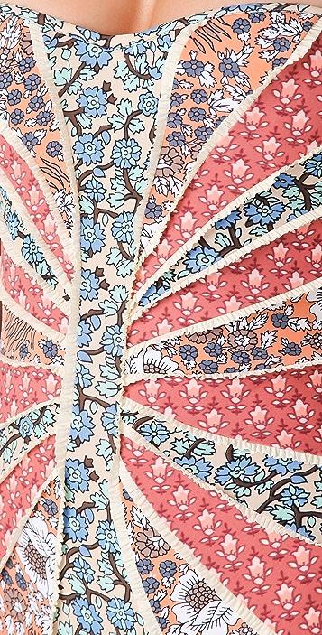 Zimmermann Collector Patchwork One Piece