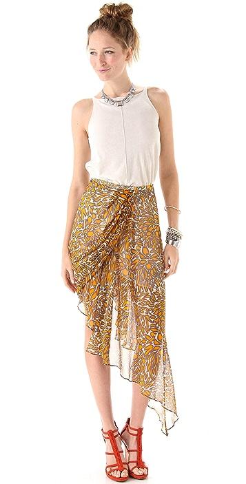 Zimmermann Bon Bon Draped Skirt