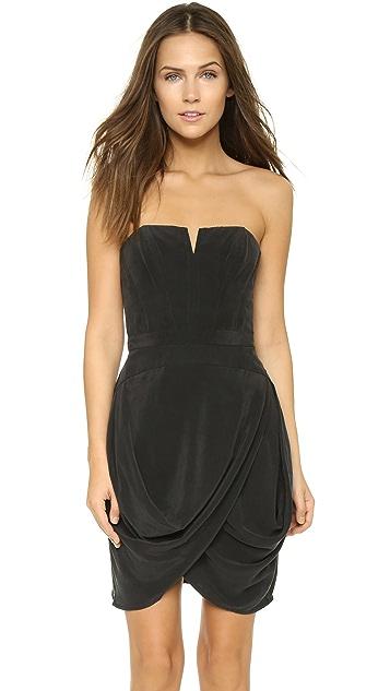 Zimmermann Laced Strapless Dress