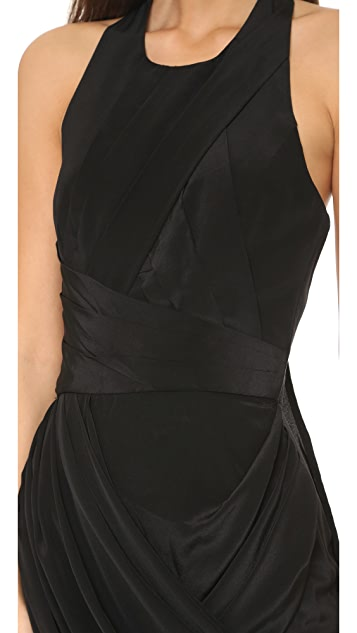 Zimmermann Back Drape Dress