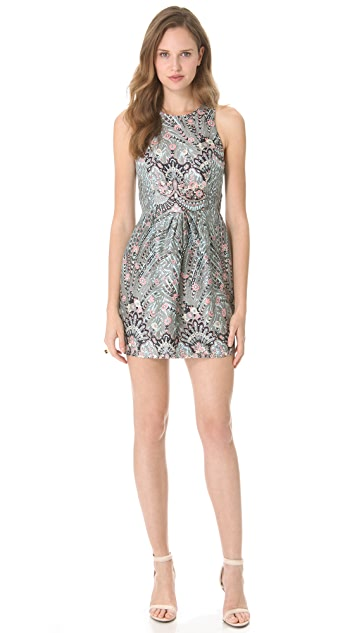 Zimmermann Rising Feather Twist Dress