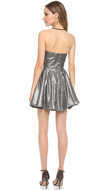 Zimmermann Twist Strapless Dress