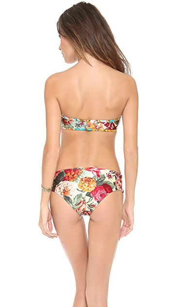 Zimmermann Sundance Zip It Bandeau Bikini