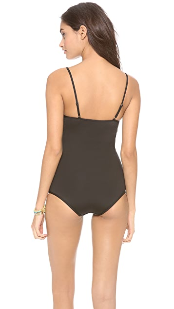 Zimmermann Sundance Lattice One Piece Swimsuit