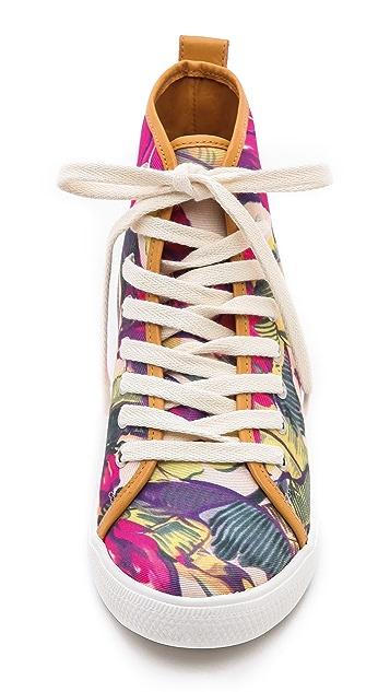 Zimmermann Floral Printed Sneakers