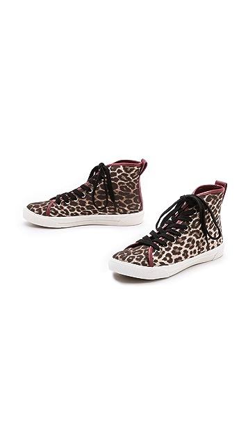 Zimmermann Leopard Print Sneakers