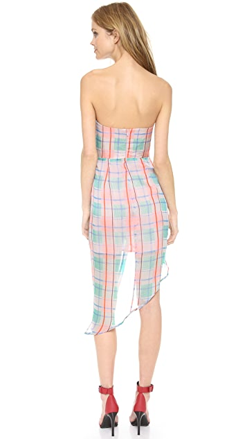 Zimmermann Good Love Plunge Dress