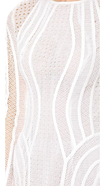 Zimmermann Good Love Contour Lace Dress